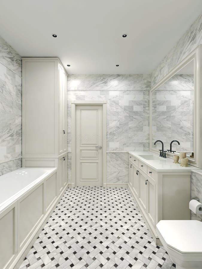 Estilo do clássico do banheiro