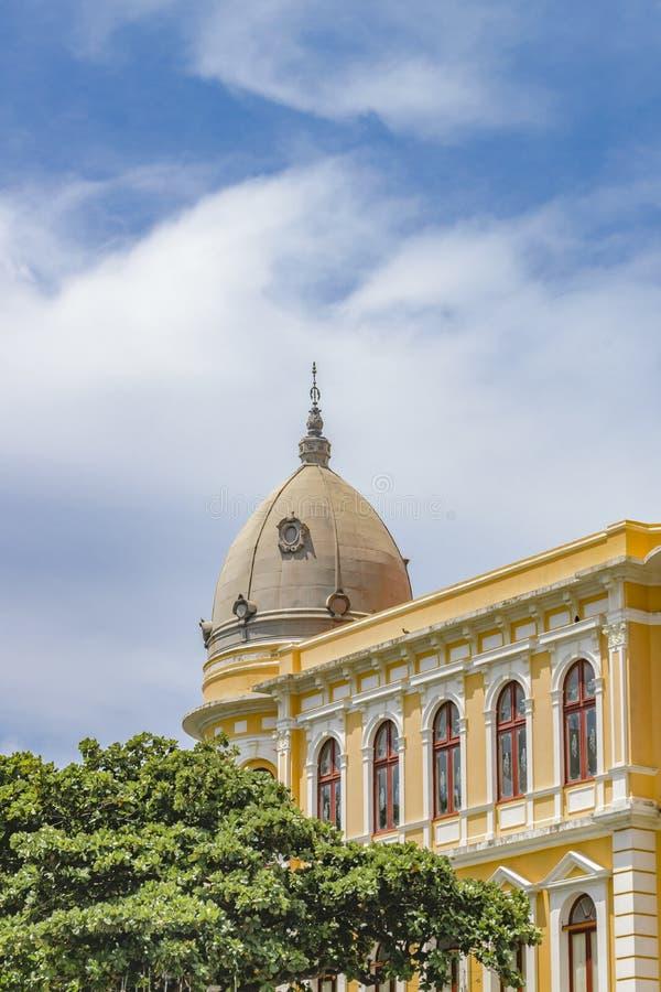 Estilo ecléctico elegante que construye Recife el Brasil fotos de archivo