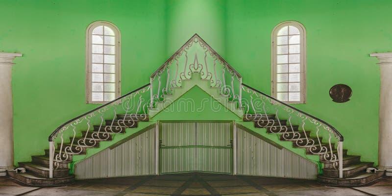 Estilo ecléctico que construye la visión interior imagen de archivo