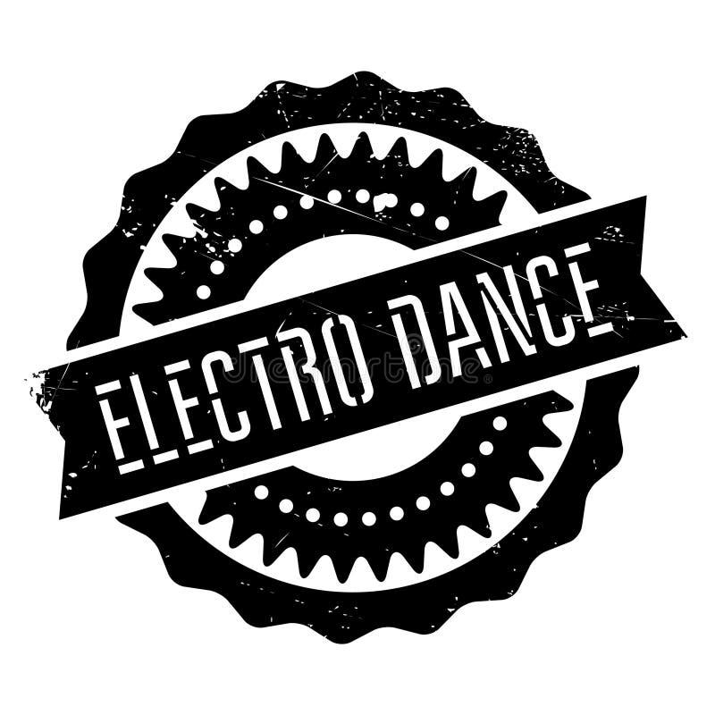 Estilo famoso de la danza, electro sello de la danza libre illustration