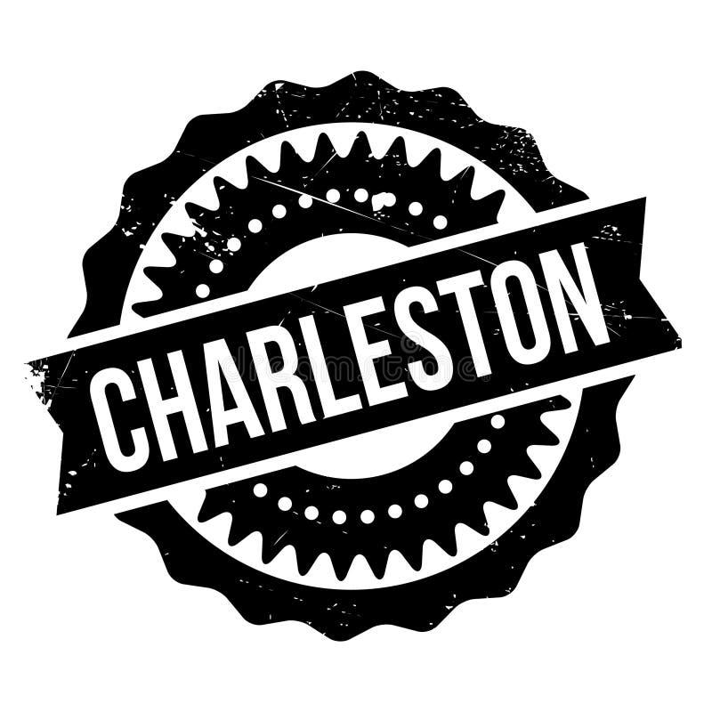 Estilo famoso de la danza, sello de Charleston ilustración del vector