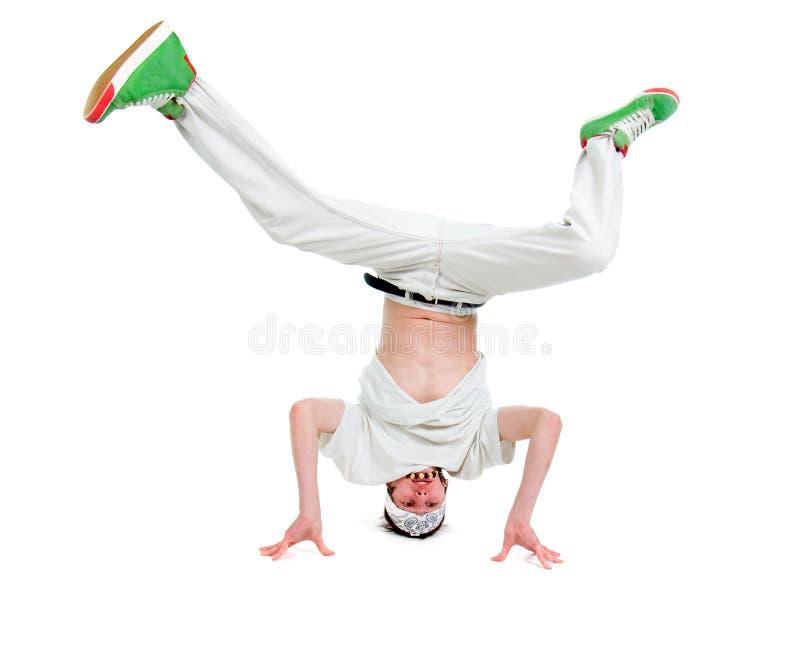 Estilo fresco dancer.breakdance do lúpulo do quadril imagens de stock