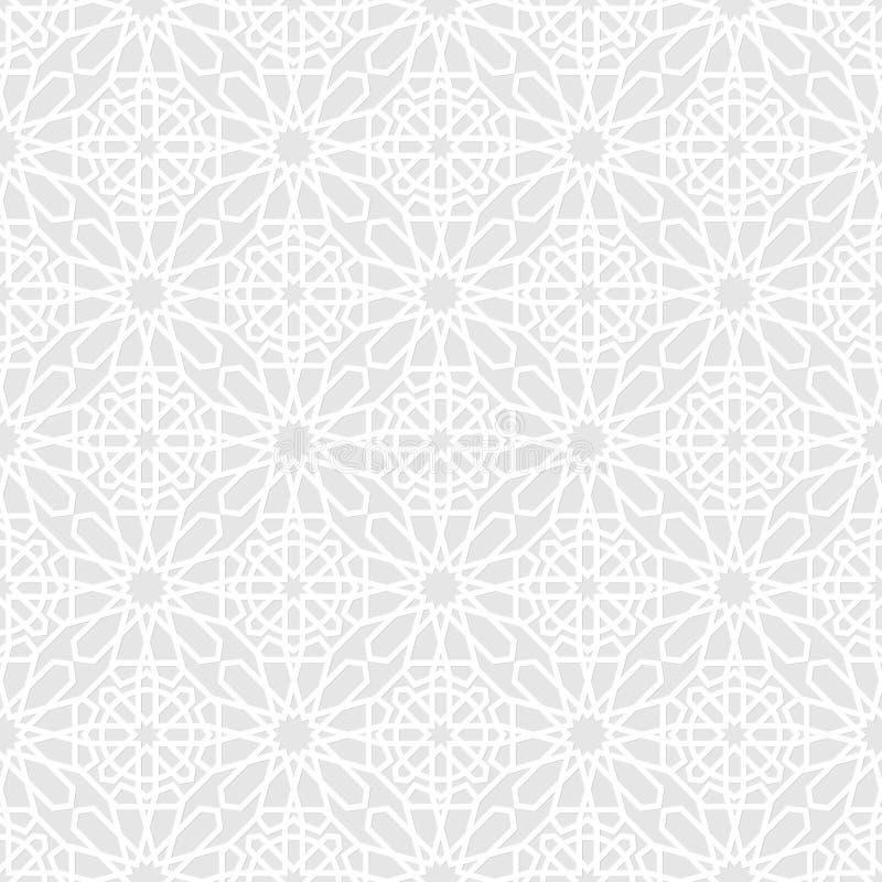 Estilo geométrico islâmico ilustração do vetor