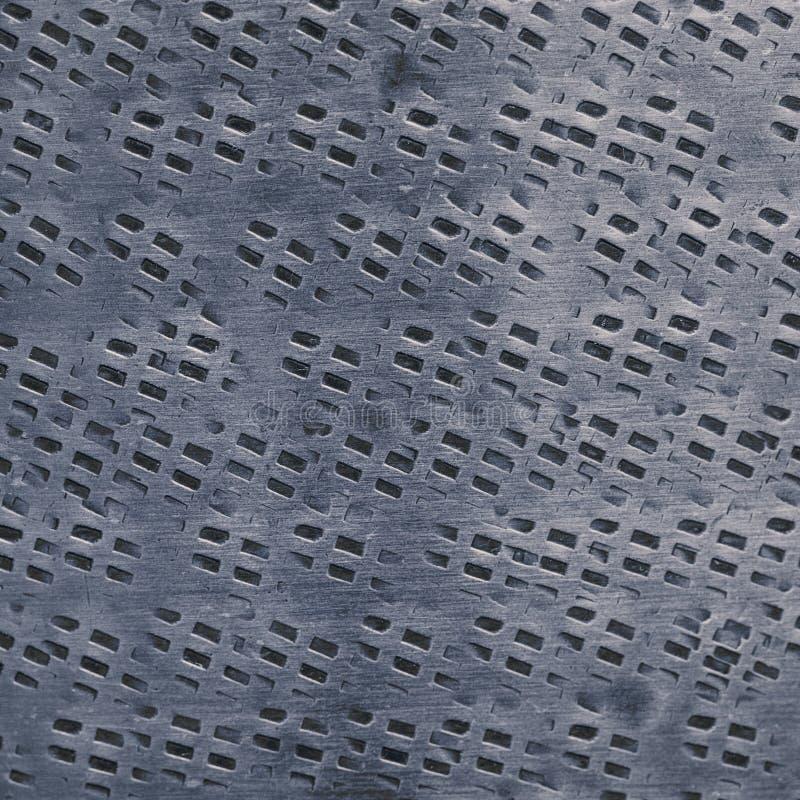 Estilo Gray Abstract Detail de Instagram do fundo da textura do metal fotos de stock