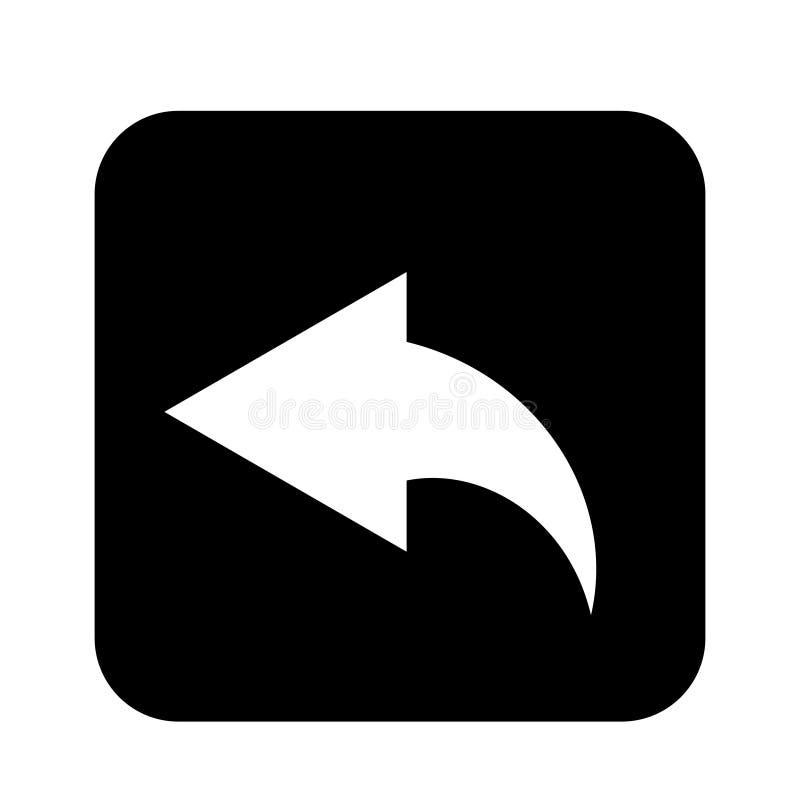 Estilo liso do projeto do vetor do ?cone da seta - vetor ilustração do vetor