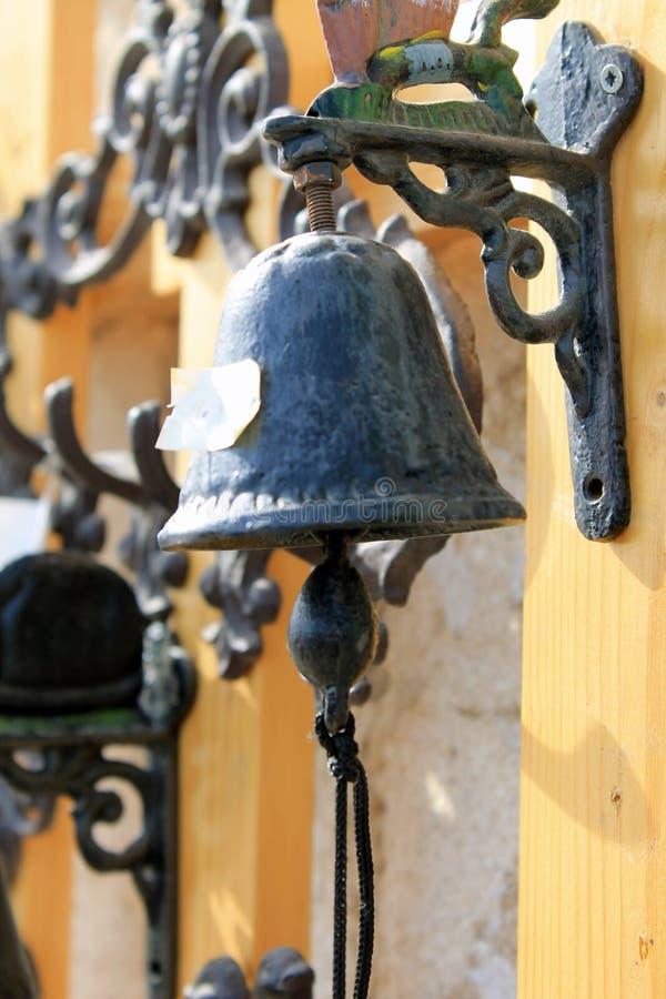 Estilo marítimo de la campana negra imagen de archivo libre de regalías