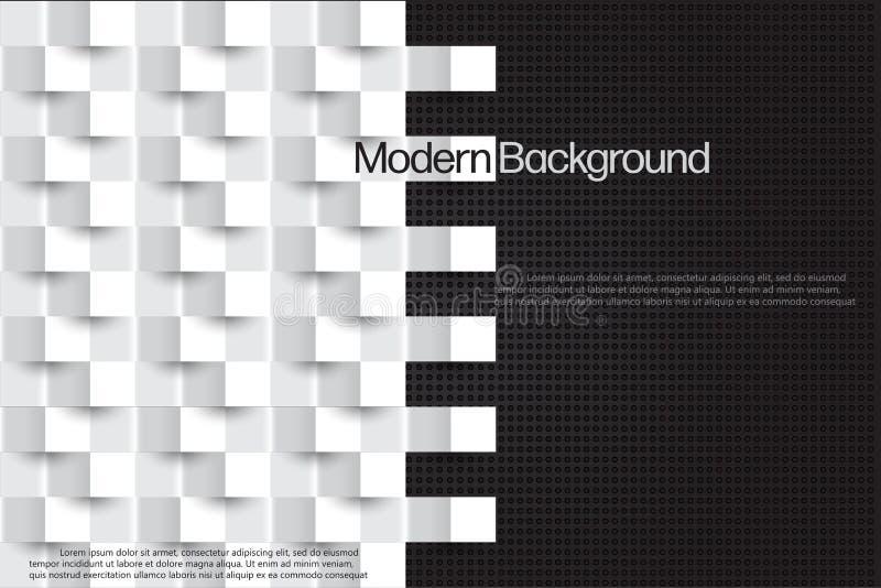 Estilo moderno abstrato Design mínimo do vetor de cobertura ilustração do vetor