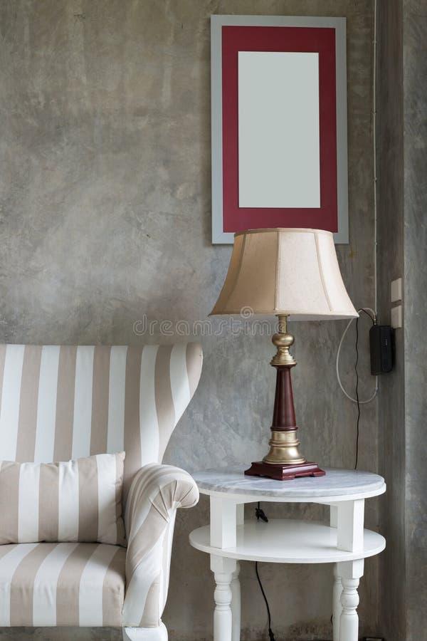 Estilo moderno da sala de visitas do design de interiores fotos de stock