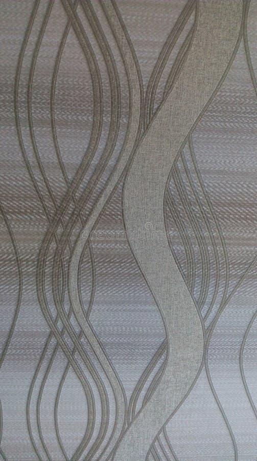 Estilo ondulado abstrato da arte do papel de parede imagens de stock