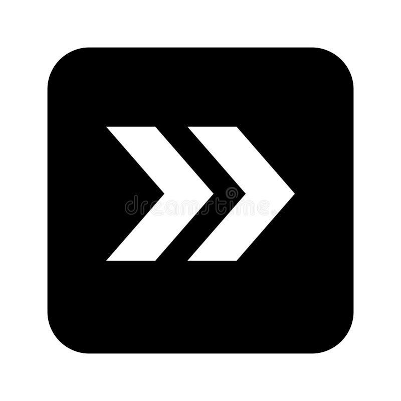 Estilo plano del dise?o del vector del icono de la flecha - vector stock de ilustración