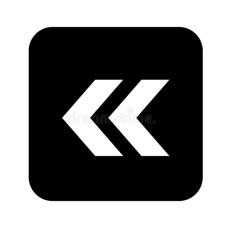 Estilo plano del dise?o del vector del icono de la flecha - vector ilustración del vector