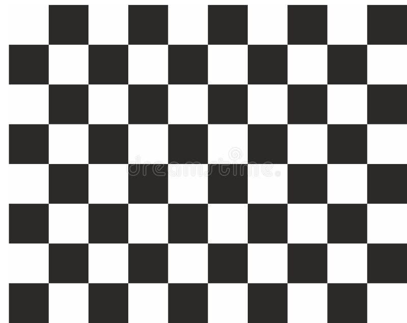 Estilo preto e branco abstrato da xadrez do fundo esquadrado foto de stock royalty free