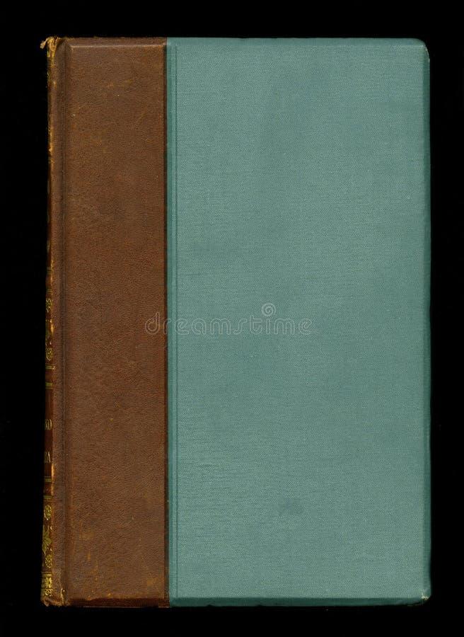 Estilo retro Cubierta de libro antigua del diario del diario del vintage fotografía de archivo
