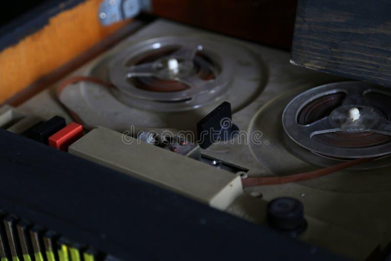 Estilo retro de rádio velho foto de stock