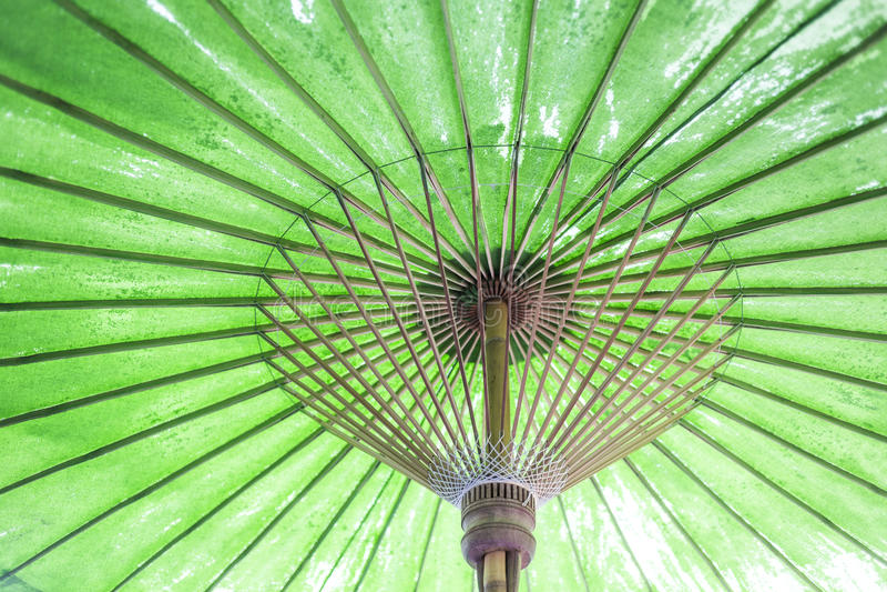 Estilo retro do asiático do guarda-chuva do vintage imagem de stock