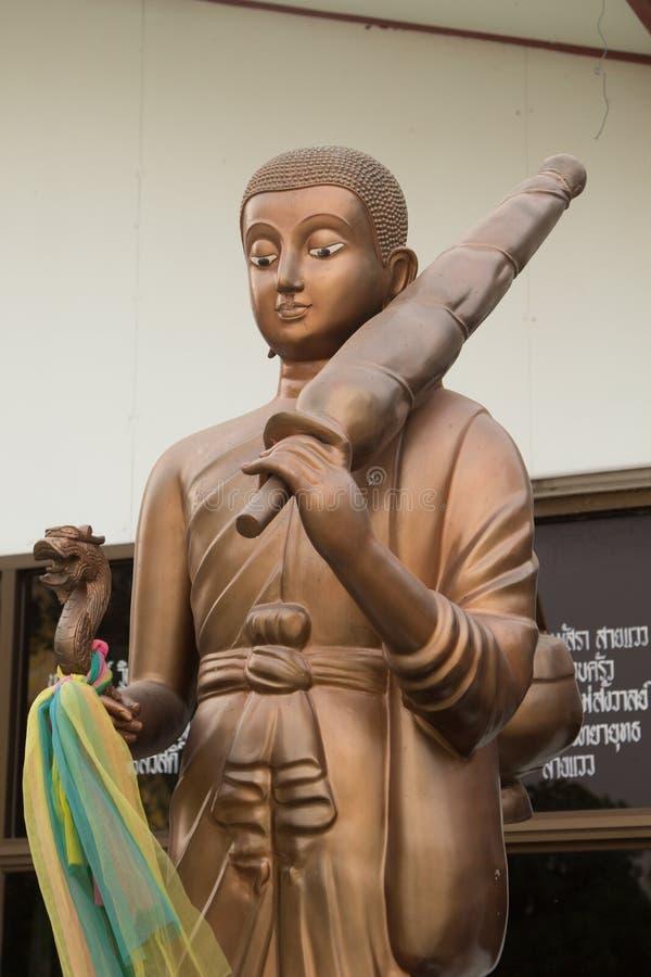 Estilo Tailândia da imagem da Buda imagem de stock royalty free