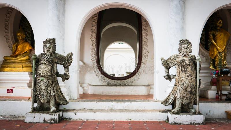 Estilo Tailandés-chino de piedra imagen de archivo libre de regalías