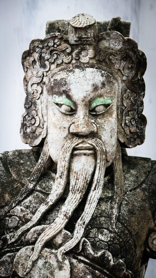 Estilo Tailandés-chino de piedra fotos de archivo libres de regalías