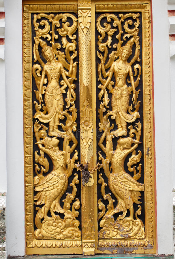 Estilo Tailandés Tradicional Foto de archivo