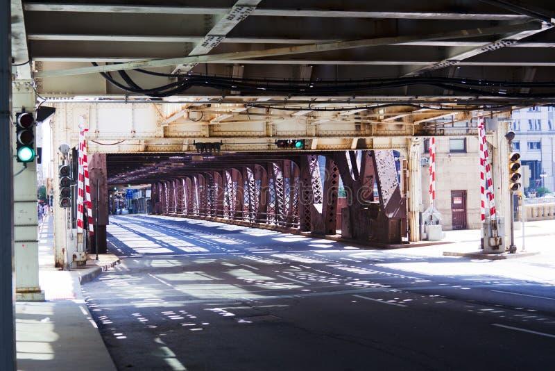 Estilo urbano - ponte imagem de stock
