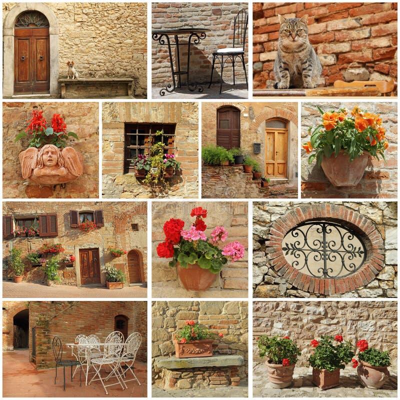 estilo vivo de tuscan imagens de stock royalty free