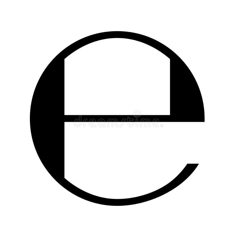 Estimated icon, estimated symbol, estimate sign. Flat packaging estimate sign icon stock illustration