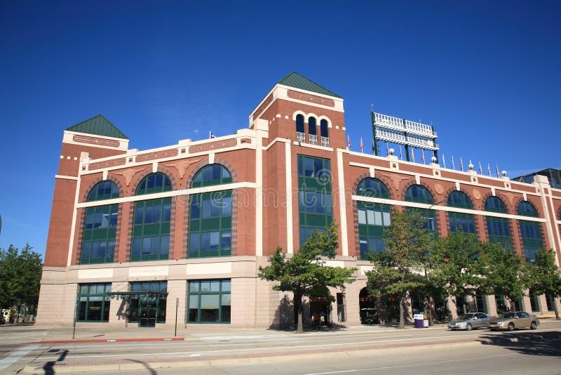 Estimativa das Texas Rangers em Arlington imagem de stock royalty free