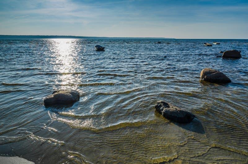 EstländareÖstersjön kust arkivfoton