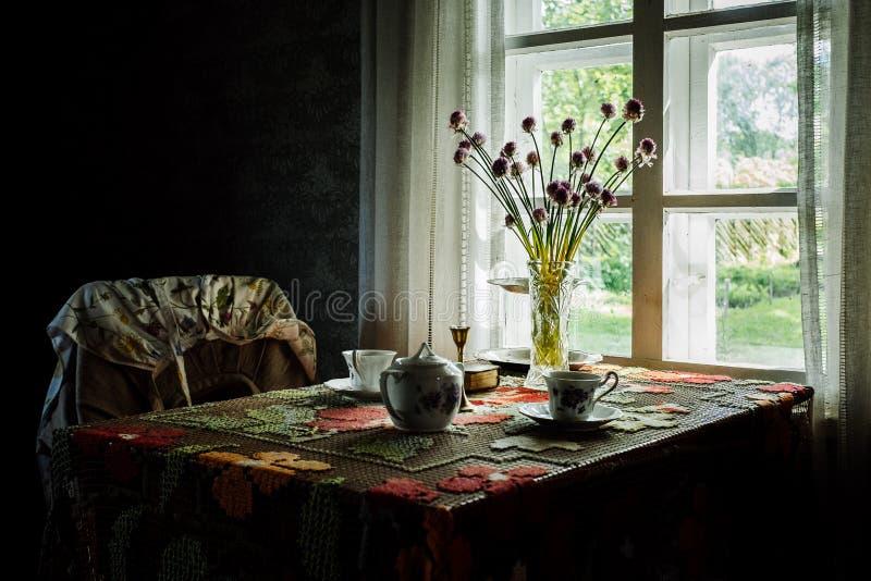 Estländskt lantbrukarhem royaltyfria bilder