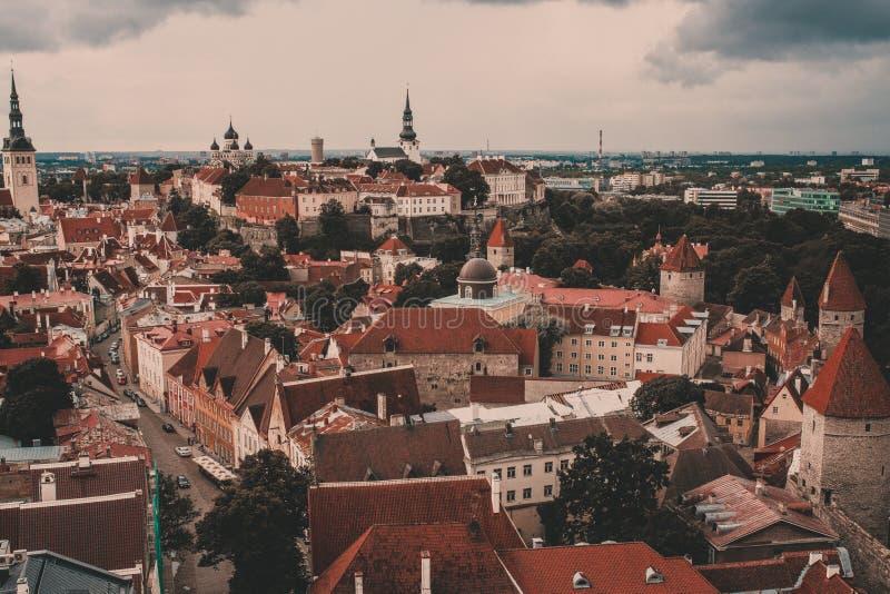 Estland Tallinn stock foto's
