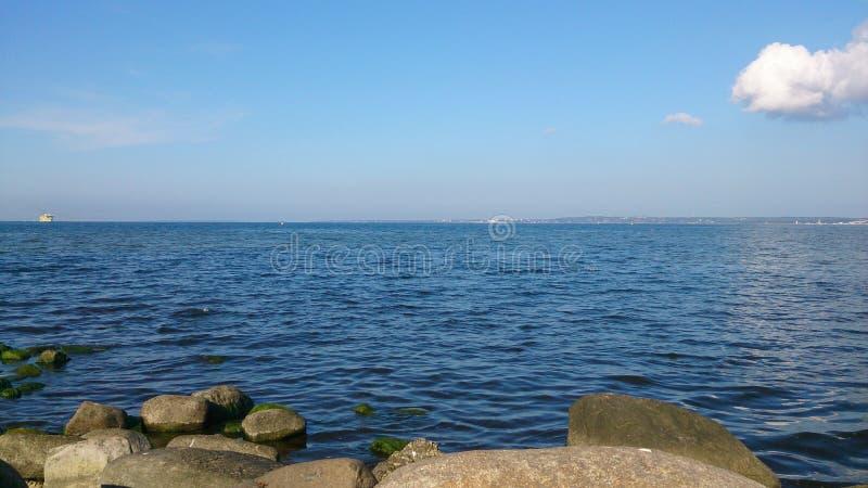 Estlands water stock foto