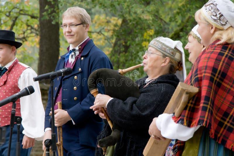 Estlandse mensen royalty-vrije stock foto