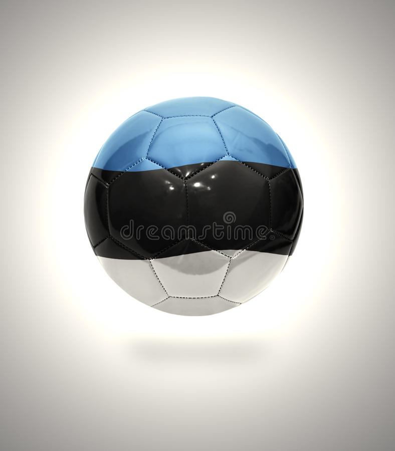 Estlandse Voetbal stock afbeeldingen
