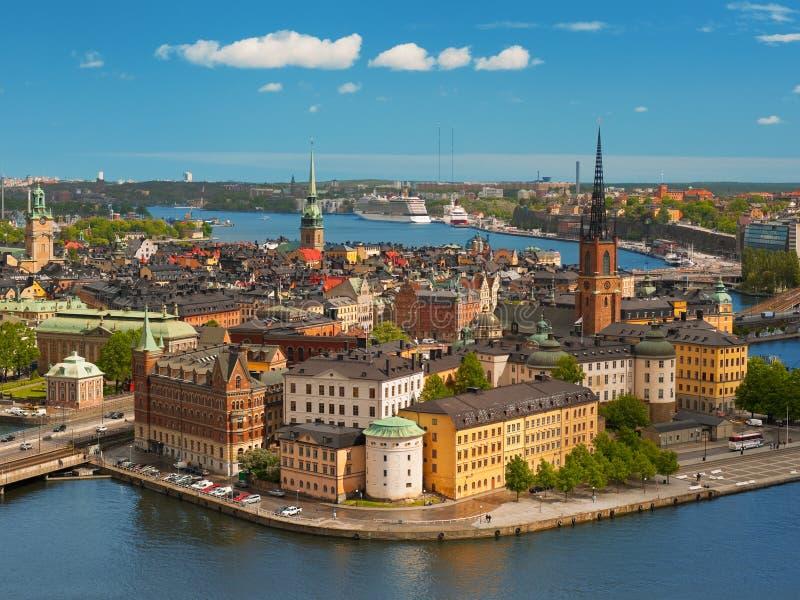 Estocolmo, ciudad vieja imágenes de archivo libres de regalías