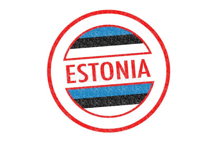 Estonia ilustración del vector