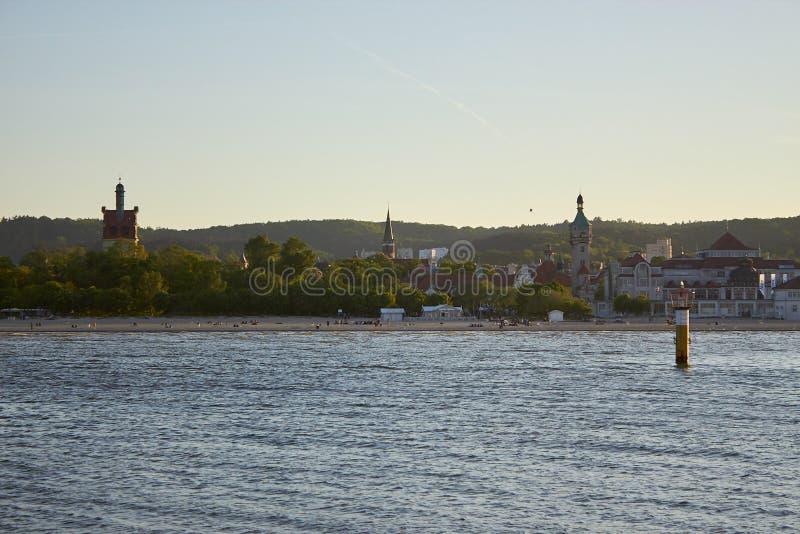Estonia baltic Tallinn somethere blisko morza obraz royalty free