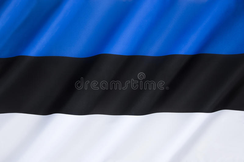 estonia flagę obrazy royalty free
