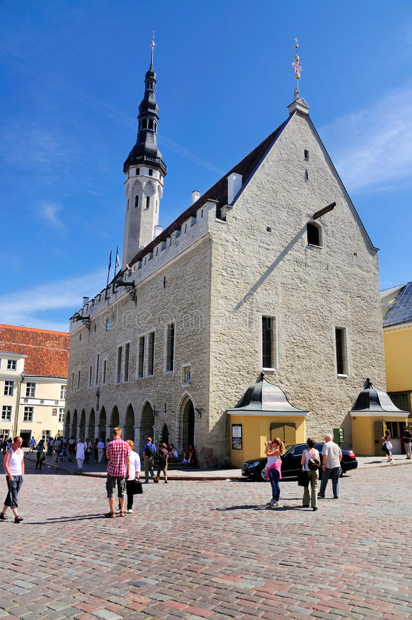 estonia sala Tallinn miasteczko zdjęcia stock