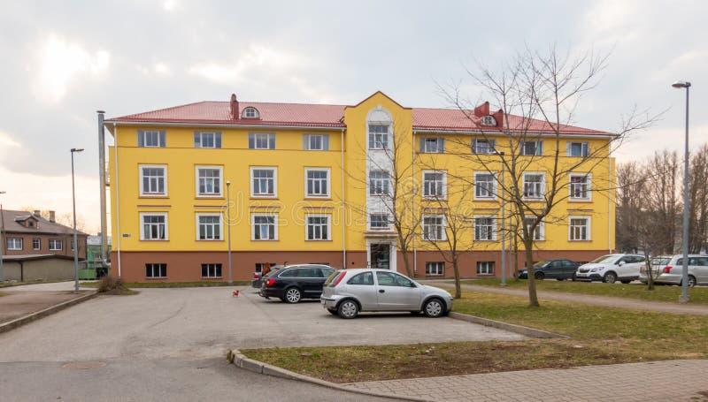 Estonia Tallin miasto distric Kopli zdjęcia royalty free