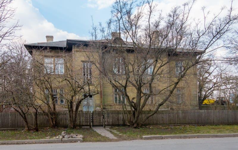 Estonia Tallin miasto distric Kopli fotografia stock