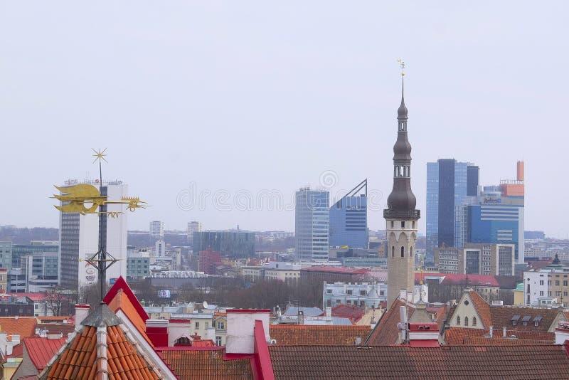 estonia tallin starego miasta fotografia stock