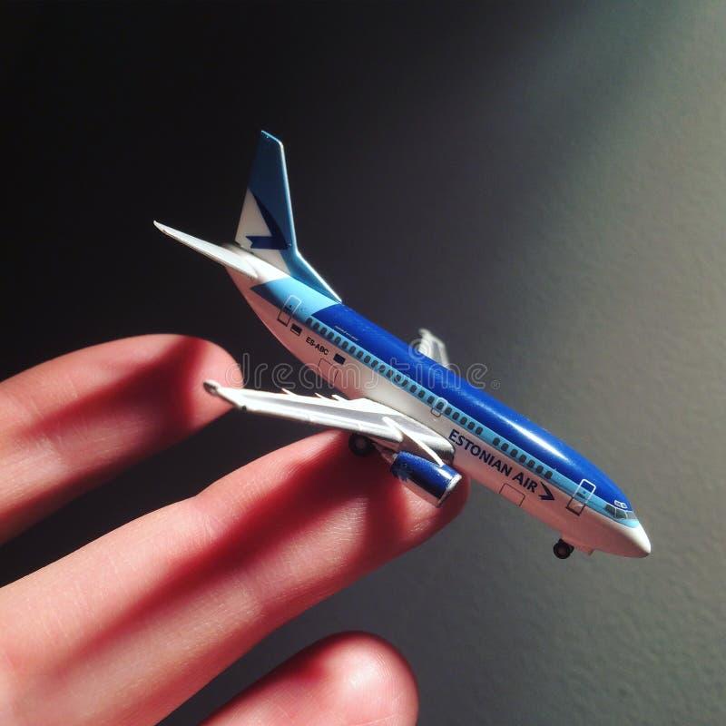 Estonian Air gick bankrutten royaltyfri bild