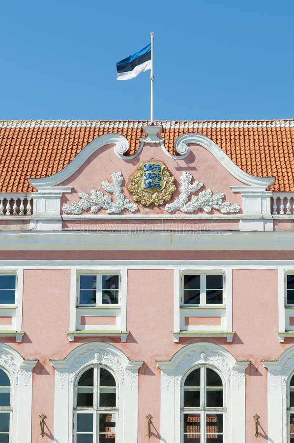 Download Estonian Parliament Stock Photo - Image: 28462900
