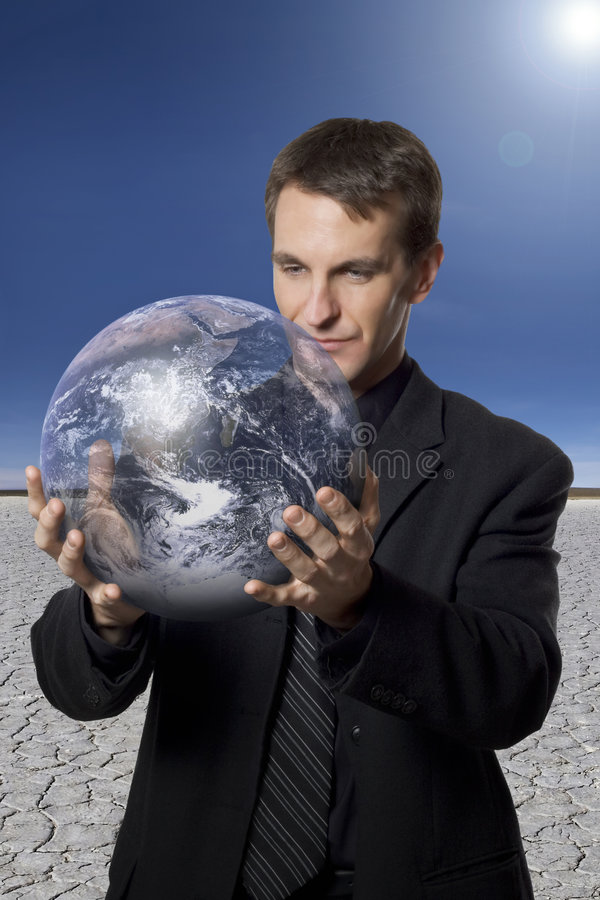 Estoque a foto: Interesses de negócio global fotos de stock royalty free