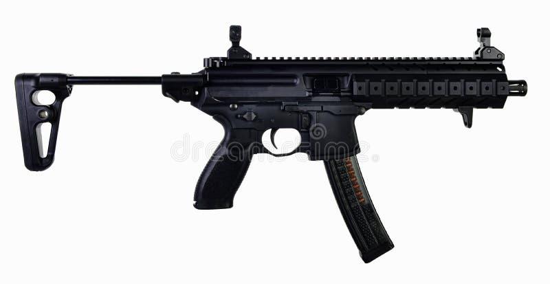 Estoque prolongado do estilo 9mm SBR da AR foto de stock