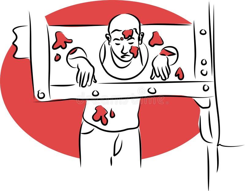 Estoques ilustração royalty free