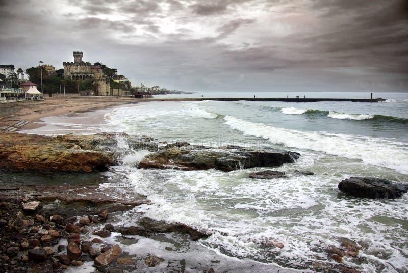 Download Estoril Coastline stock image. Image of dramatic, seascape - 13514299