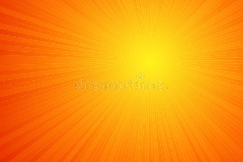 Estouro da laranja ilustração royalty free