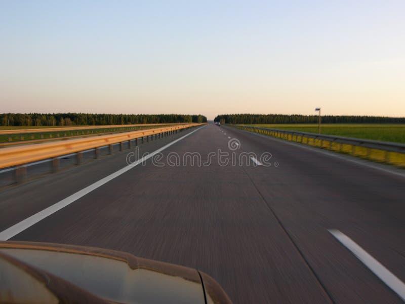 Estrada à Infinidade Imagens de Stock