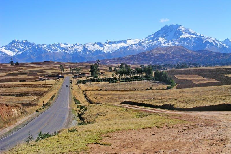 Estrada à Montanha Imagens de Stock